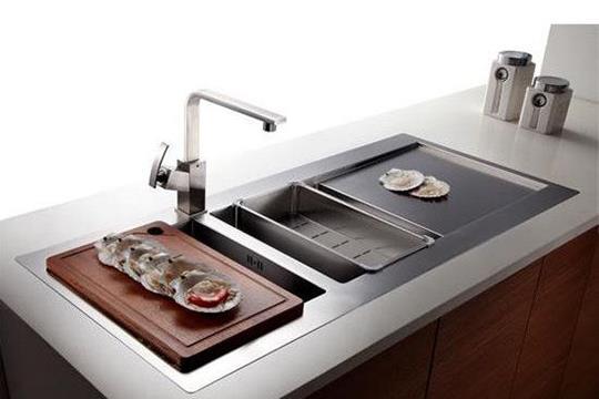 集成水槽的优缺点是什么?厨房装修有必要买吗?
